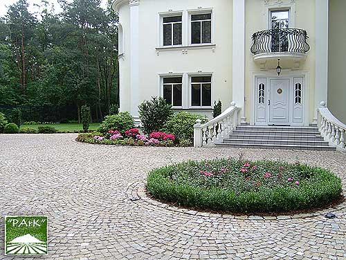 Ogród przy rezydencji w Konstancinie 4