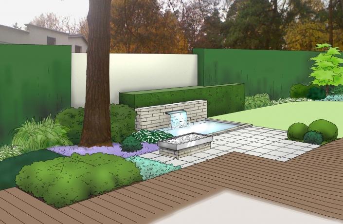Projekt ogrodu Milanówek - numer 8
