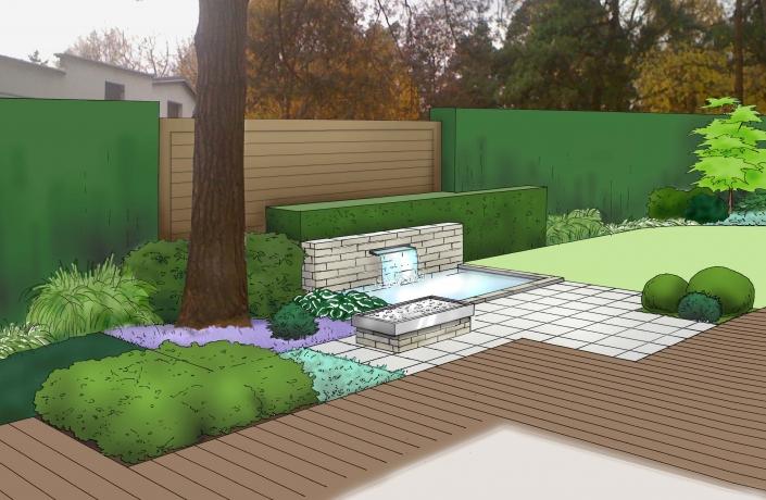 Projekt ogrodu Milanówek - numer 9