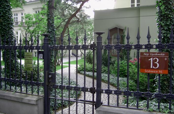 Realizacje - Ogród przy Pałacu Sobańskich - zdjęcie 2