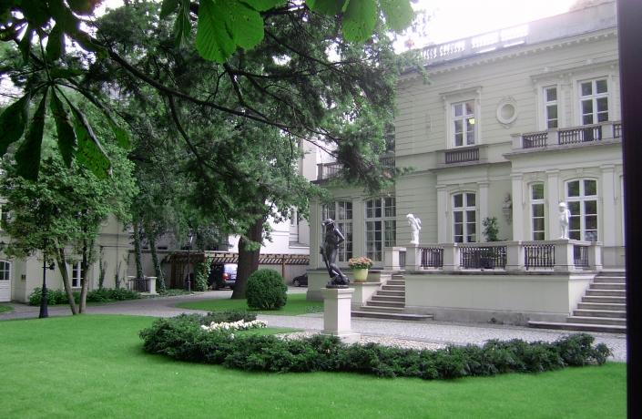 Realizacje - Ogród przy Pałacu Sobańskich - zdjęcie 8