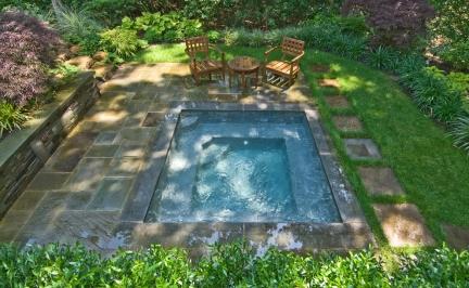Inspiracje - małe baseny i zbiorniki wodne - zdjęcie 19